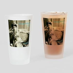 Vintage Bellydance Calendar cover L Drinking Glass