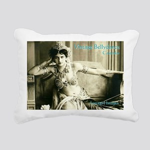 Vintage Bellydance Calen Rectangular Canvas Pillow