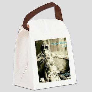 Vintage Bellydance Calendar cover Canvas Lunch Bag