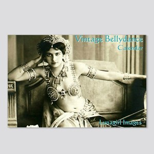 Vintage Bellydance Calend Postcards (Package of 8)