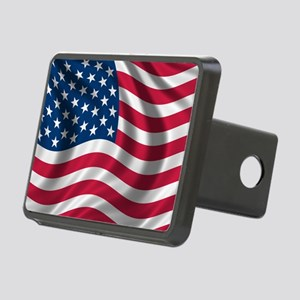 usflag Rectangular Hitch Cover
