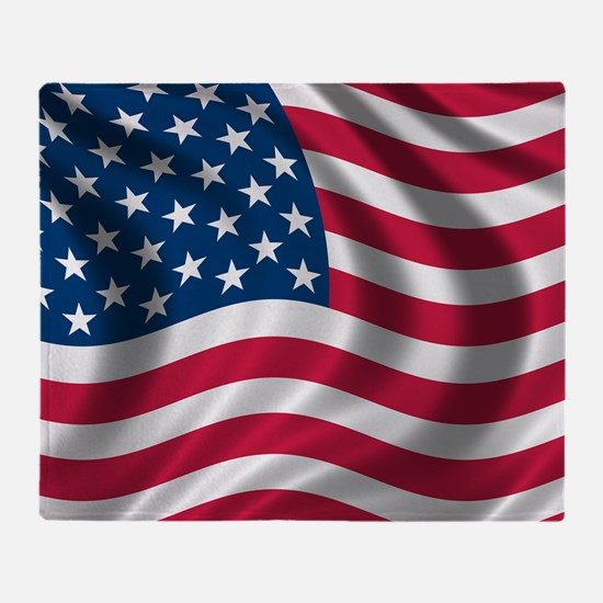 usflag Throw Blanket