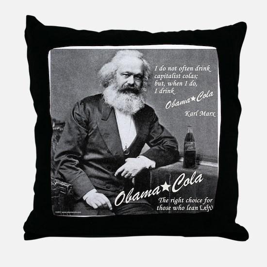 karl_marx-1b Throw Pillow