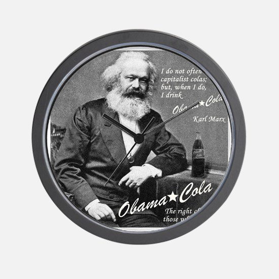 karl_marx-1b Wall Clock