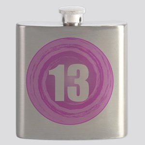 B-DAY-PINK 13TH Flask
