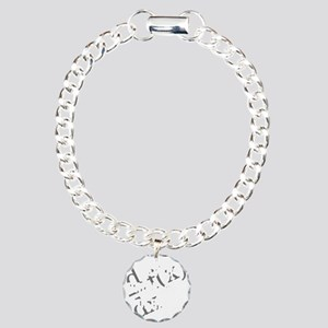 Drink-and-derive-3d-whit Charm Bracelet, One Charm