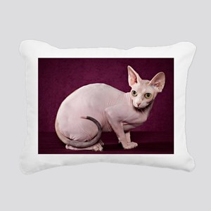 Sphynx10 Rectangular Canvas Pillow