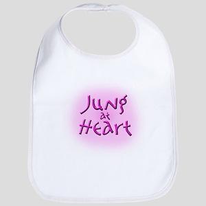Jung at Heart pink Bib