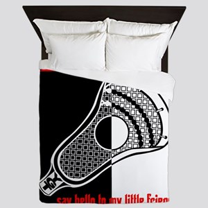 Lacrosse Say Hello Queen Duvet