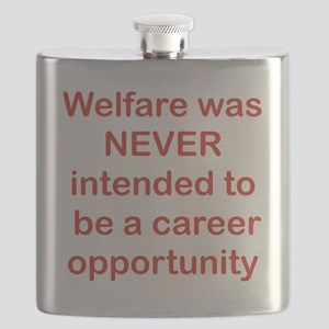 WELFARE WAS NEVER INTENDED TO BE A CAREER OP Flask