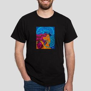 Flute Player Dark T-Shirt