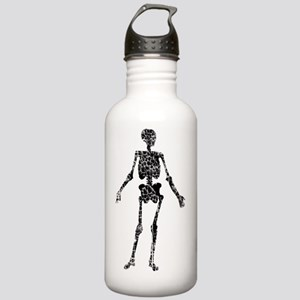 distressed skeleton2 Stainless Water Bottle 1.0L