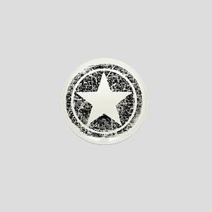 distressed star Mini Button
