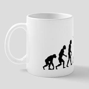 evolution tennis14x6 Mug