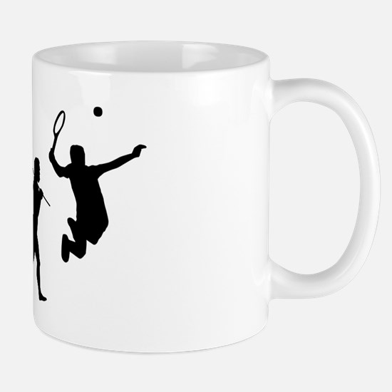 evolution tennis14x6png Mug