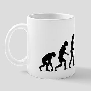 evolution baseball14x6 Mug