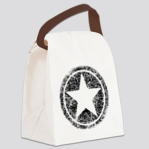 DISTRESSED STAR MP2 Canvas Lunch Bag