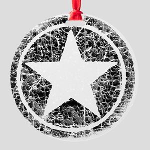 DISTRESSED STAR MP2 Round Ornament