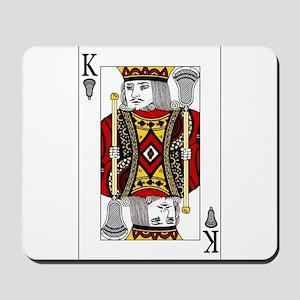 Lacrosse King of Spades Mousepad