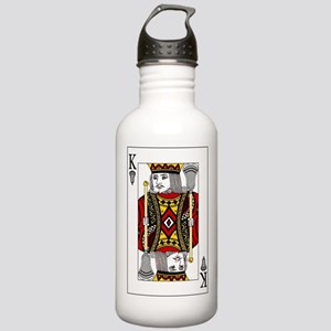 Lacrosse King of Spades Stainless Water Bottle 1.0
