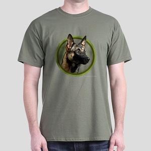 Malinois Art Dark T-Shirt