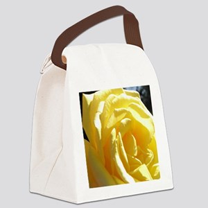 Yellow Rose.of Texas Canvas Lunch Bag