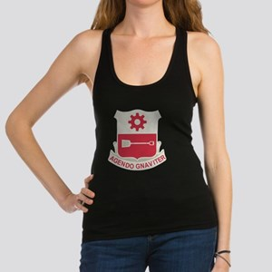 577th Army Engineer Battalion M Racerback Tank Top