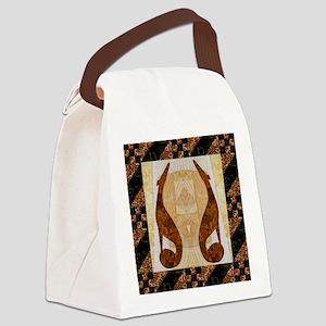 Pumpkin Path Canvas Lunch Bag