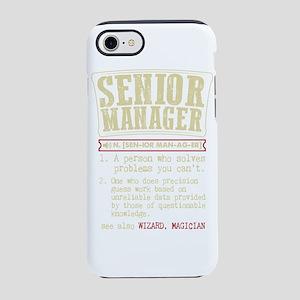 Senior Manager Dictionary Term iPhone 7 Tough Case
