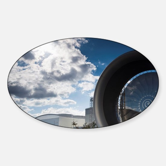 Tour of the Airbus aircraft factory Sticker (Oval)