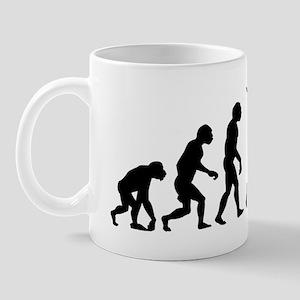 evolution karate 14x6 Mug