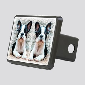 flip flops french bulldog Rectangular Hitch Cover