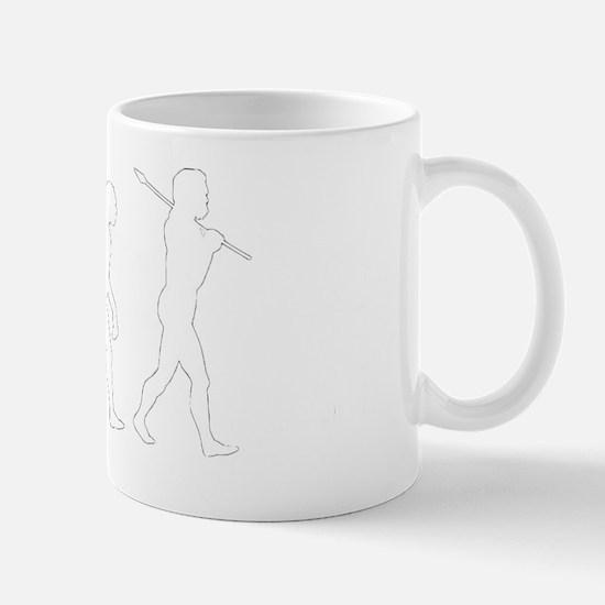evolution prayer2 Mug