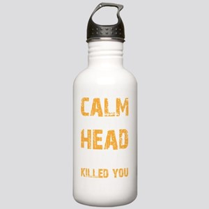 calmdrk copy Stainless Water Bottle 1.0L