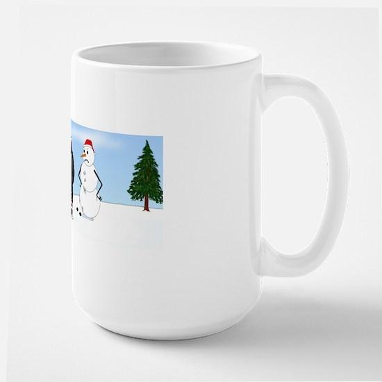 Newfie2WinterMug Large Mug