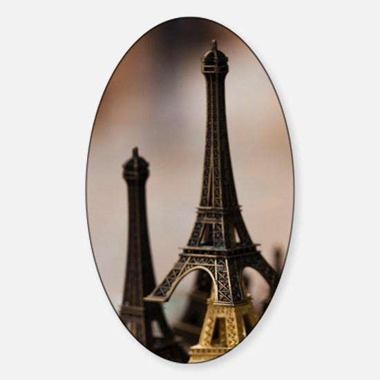 France, Paris, Left Bank, souvenir  Sticker (Oval)
