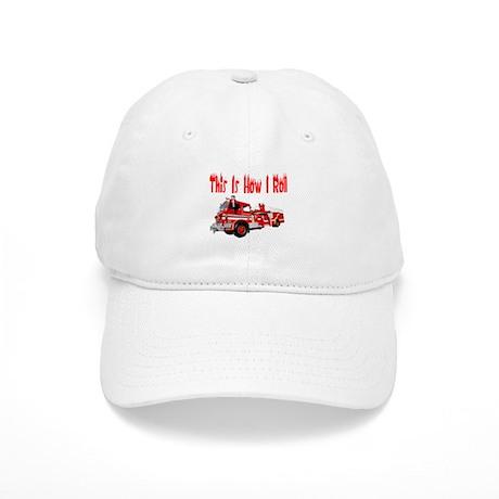 How I Roll- Fire Truck Cap