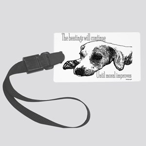 BEATINGS Large Luggage Tag