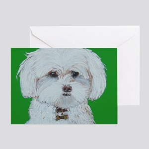 SQ Maltese Greeting Card