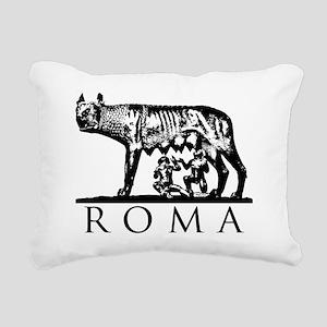 She-Wolf ROMA Rectangular Canvas Pillow