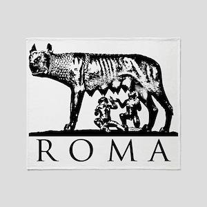 She-Wolf ROMA Throw Blanket