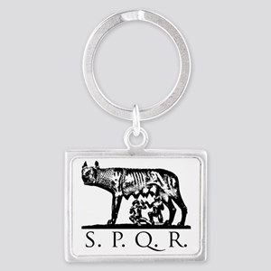 She-Wolf SPQR Landscape Keychain
