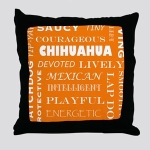 CHIHUAHUA_edited-1 Throw Pillow