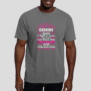 Gemini Girl I Have 3 Sides Quiet Sweet Fun T-Shirt