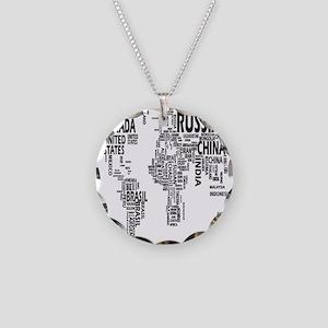 united states Necklace Circle Charm
