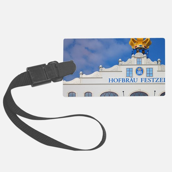 Munich. Front of the Hofbrau Fes Luggage Tag