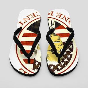 Occupy Wall Street America Flip Flops