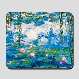 Laptop Monet Nymph Mousepad