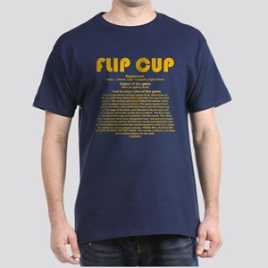 Flip Cup (gold) Dark T-Shirt