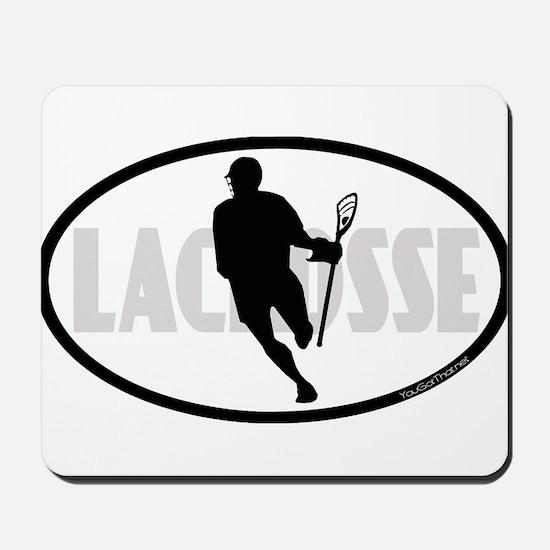 Lacrosse IRock Oval II Mousepad